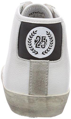 660291 Weiß BIKKEMBERGS Herren Schwarz Weiß Hohe Sneakers Ad7Prq7xw