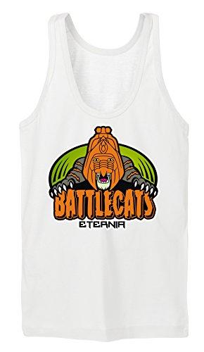 Certified Freak Battlecat TankTop Girls White