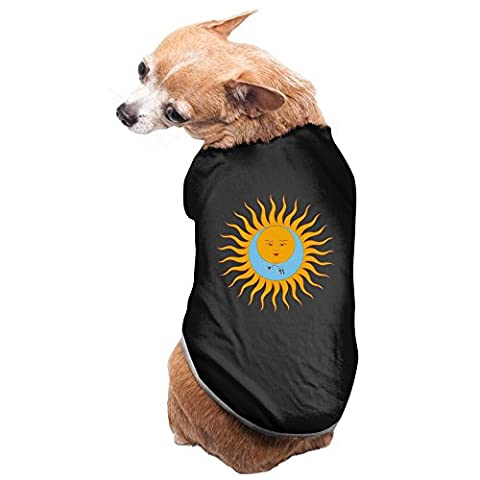 Black King Crimson English Rock Band Heartbeat Pet Supplies Dog Hoodies Dog Christmas Sweater (In Hearts Wake Hoodie)