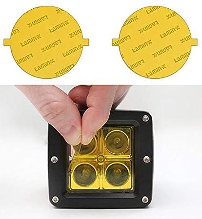 amazon com lamin x t649y fog light cover automotiveFog Lamp Installation Instructions For 1946 Chevrolet Part 4 #8