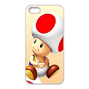 Mario iPhone 5 5s Cell Phone Case White Custom Made pp7gy_3384693