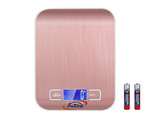 FuXing Kitchen Scales Mini Electronic Food scale,also can Use as Digital Jewelry Coffe Scales Accurate Gram 5KG 1G