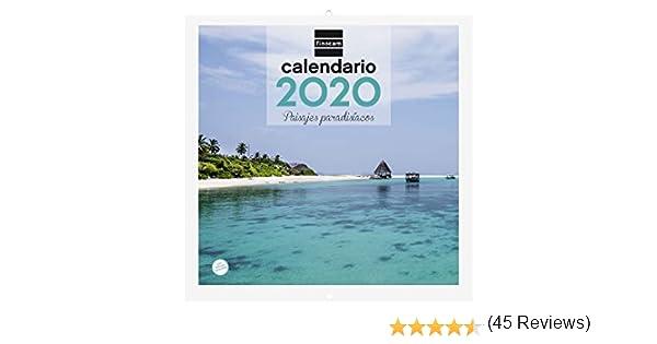 Finocam Imágenes 30x30 Paisajes Paradisíacos, Calendario de Pared ...