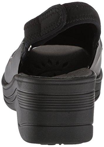 Neoprene Delight Black Wedge Women's Sandal Easy Street YqpSa