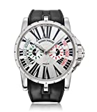 Roger Dubuis Excalibur Triple Time Zone Mens Watch