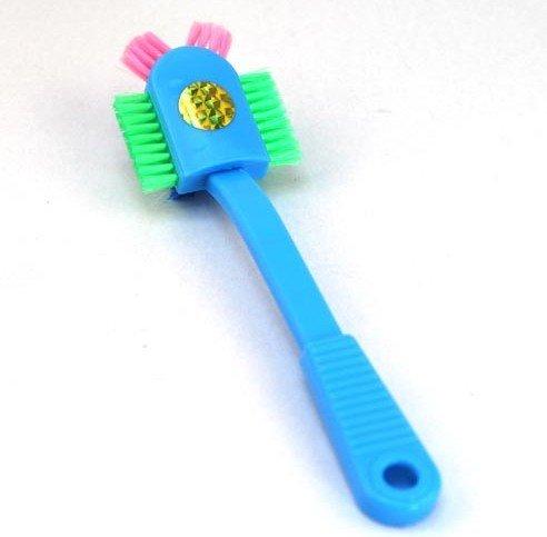 Umiwe(TM) Creative Plastic Handle Multi Degree Full Range Clean Wash Shoe Brush With Umiwe Accessory