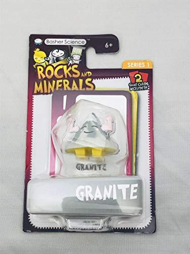 Basher Science Rocks and Minerals Granite Figure Series 1 With 2 Game Cards (Basher Science Rocks And Minerals)