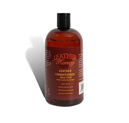 Leather Honey Leather Conditioner, Best Leather Conditioner Since 1968. For Use on Leather Apparel, Furniture, Auto Interiors, Shoes, Bags and Accessories. Non-Toxic and Made in the USA! -