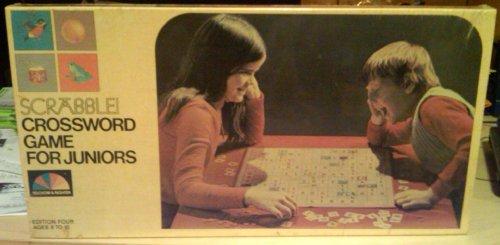 (Scrabble Crossword Game for Juniors from 1975)