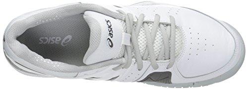 ASICS Damen Gel-Encourage Le Tennisschuh Weißsilber