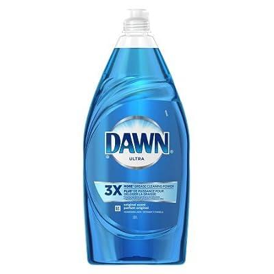 Dawn Ultra Dishwashing Liquid Original Scent, 34.2 Fl Oz per Bottle Set of 5