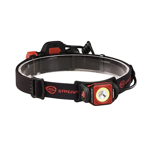 - Streamlight 51064 Twin-Task USB Headlamp, Black/Red, Boxed - 375 Lumens