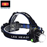 Headlamp Flashlight Kit, ANNAN LED Headlight with Zoomable Focus and 3 Modes, Waterproof