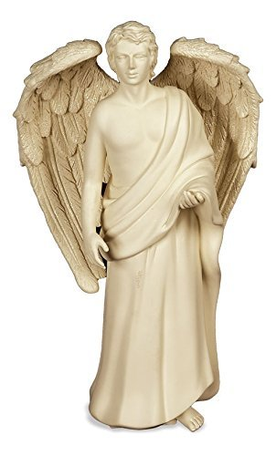(AngelStar 9-Inch Male Angel Figurine, Noble Presence)