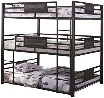 Coaster Home Furnishings Rogen Full Triple Bunk Bed