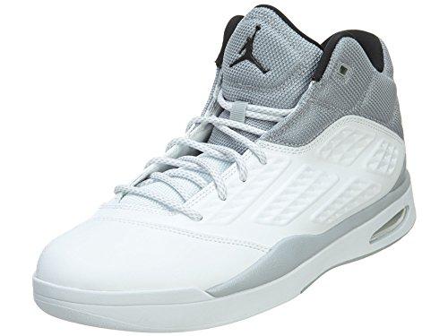Zapatos para hombre Nike Air Jordan New School fuera de la cancha Blanco / gris