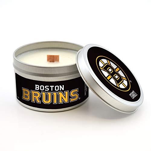 Boston Peach - Worthy Promo NHL Boston Bruins Sweet Peach Scented Soy Wax Candle