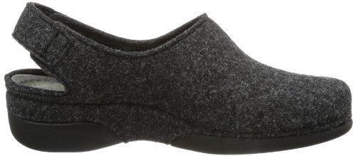 Pantofole Scuro grigio Grigio 937 Berkemann Valerianici Gris Donna PnaOU4q