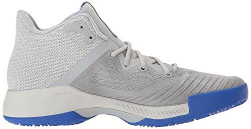 Scarpa Da Basket Adidas Mens Rimbalzante Uomo Grigio / Grigio / Grigio
