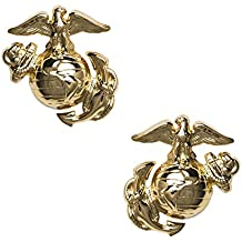 USMC Enlisted Collar Device, Regulation size