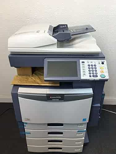 New Engine Toshiba E Studio 3530c Color Copier Printer Scanner Page Count 0 Certified