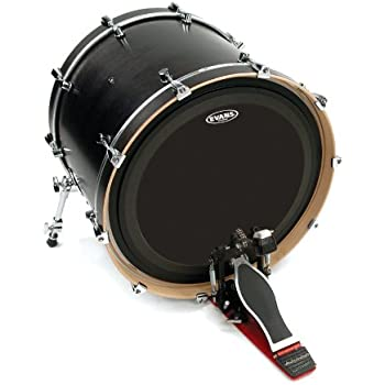 evans emad onyx bass drum head 20 inch musical instruments. Black Bedroom Furniture Sets. Home Design Ideas