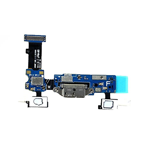 New OEM Micro USB Charging Charger Port Mic Home Keypad Key Flex Cable Dock Connector Ribbon Replacement Repair Part for Samsung Galaxy S5 V i9600 G900 G900A G900F G900H G900T Sprint/G900P G900R4 Verizon/G900V (G900P)