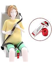 Beyee Cintura di sicurezza, dispositivo di regolazione della cintura per maternità, cintura per auto in gravidanza per donne incinte, comfort e sicurezza per proteggere il nascituro