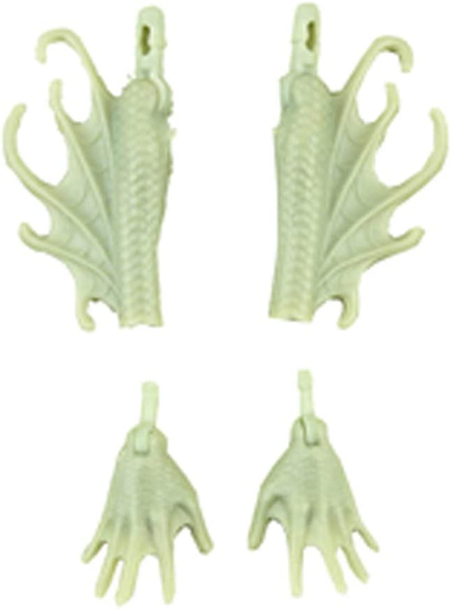 Monster High Replacement Parts Doll Set - DHB47 ~ Great Scarrier Reef Peri and Pearl Serpentine Dolls ~ Replacement Set of Gray Lower Arms and Hands