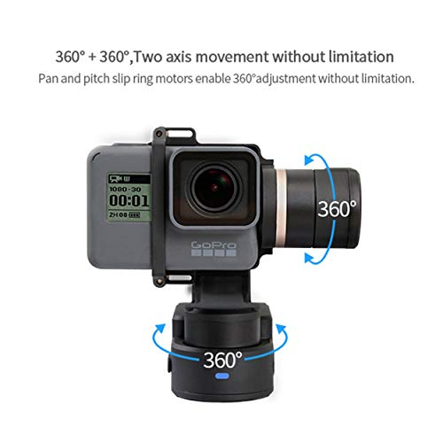 For FeiyuTech WG2 Waterproof Wearable 3-Axis Gimbal Stabilizer For GoPro HERO5/4/3+/3/ Xiaomi YI 4K AEE Action Sport Camera...