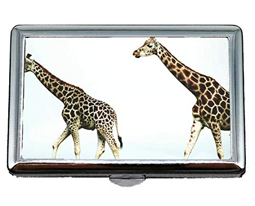 Creative Storage Case,Ridiculous Animal Giraffe Business Credit ID Card Holder