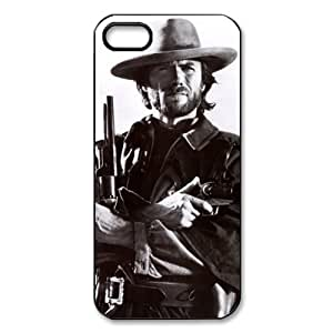 Custom Your Own Personalised Clint Eastwood iPhone 5 Best Durable Case Cover