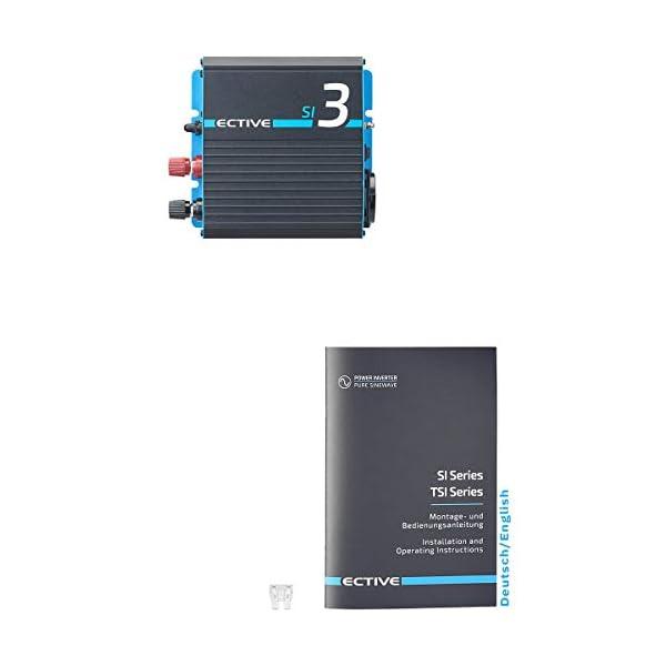419 ejoc5lL ECTIVE 300W 12V zu 230V Sinus-Wechselrichter SI 3 mit reiner Sinuswelle in 7 Varianten