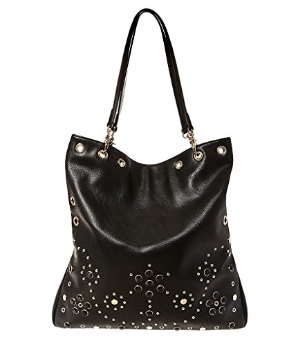 Betsey Hobo Johnson (Betsey Johnson Grommet Convertible Hobo Tote - Black)