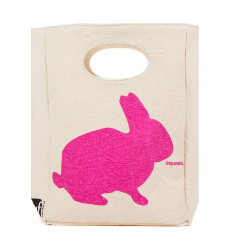 Fluf Organic Cotton Lunch Bag, Bunny