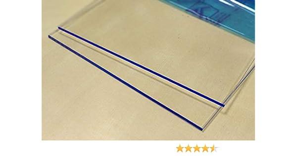 Hoja de plástico acrílico transparente 3mm - Tamaño A3 DINA3 (297 x 420 mm)- Metacrilato transparente varios tamaños - Plancha Metacrilato traslucido ...