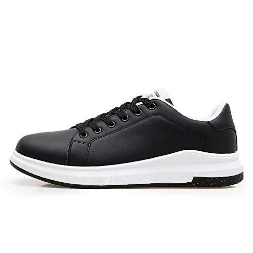 42 Blanc Chaussures Noir Eu Pure À Mode Sport La Color couleur Casual Pour Sneaker De coloré Taille Light Taille Oudan Mouth Hommes 2018 Noir 1wpgxU