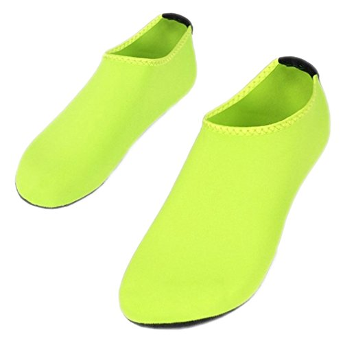 Sommer Chaussure Femme Frauen Wasser Schuhe Folien Aqua Hausschuhe für Strand Slip On Waterpark Sandalen Green