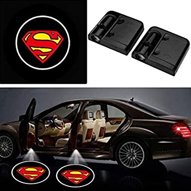 3D Wireless Magnetic Car Door Step LED Welcome Logo Shadow Ghost Light Laser Projector Lamp Purple Transformers Autobots