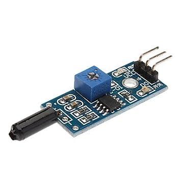 ULIAN Módulos de Arduimo accessonries/sensores para Arduino Módulo Sensor de Alarma de Vibración para