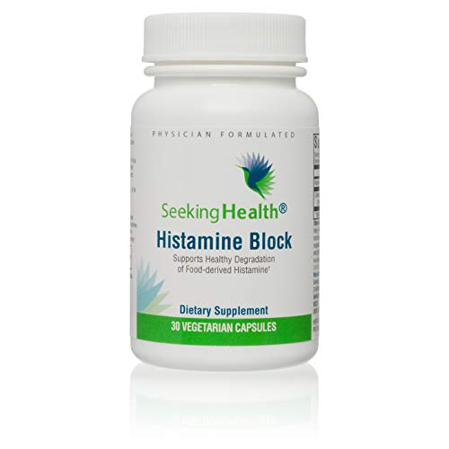 Seeking Health | Histamine Block | DAO Supplement Enzyme | Food Intolerance | Histamine Intolerance | GI Tract Supplements | Dhist 30 Capsules