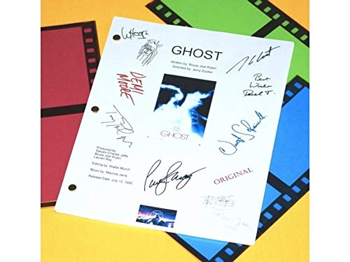 NHMug Ghost Movie Script Signed Screenplay Poster Funny Gift Ideas Men Woman [No Framed] Poster Home Art Wall Posters (16x24) -