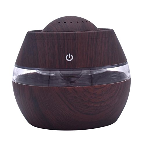 Kanzd Air Aroma Essential Oil Diffuser LED Ultrasonic Aroma Aromatherapy Humidifier For Office Decor (A)