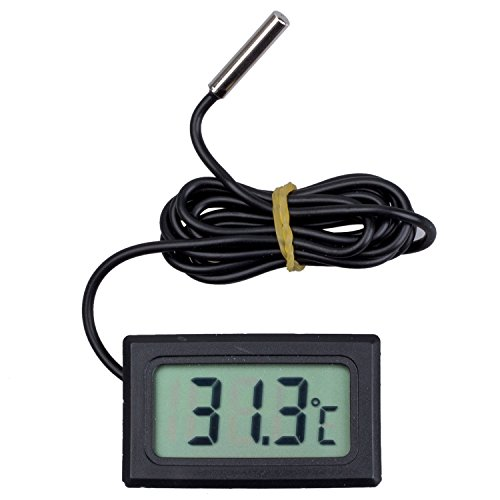 Pass toogoor digital thermometer mit lcd display fuer for Kuehlschraenke