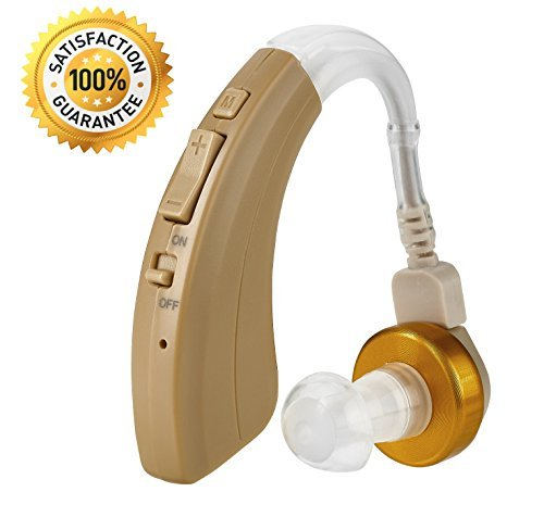 Digital Hearing Amplifier - Personal Hearing Enhancement Sound Amplifier with Extended Over 500hr Battery Life, by NewEar by NewEar