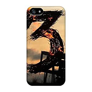 Scratch Protection Hard Phone Cases For Iphone 5/5s With Support Your Personal Customized Realistic Black Sabbath Band Image ErleneRobinson