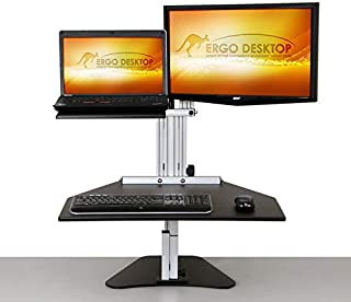 product image for Ergo Desktop ED-KH Hybrid Kangaroo - Adjustable Height Desk