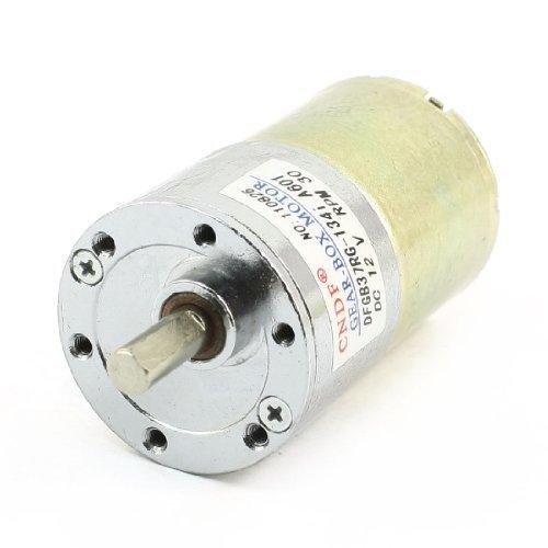 Amazon.com: Motor Forma DealMux DFGB37RG-134i Cilindro DC 12V velocidade de 30 RPM Voltada: Automotive