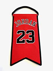 Michael Jordan Chicago Bulls Jersey Retirement Mini Banner Pennant #23 - Banner