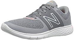 New Balance Women's Wa365v1 Cush + Walking Shoe, Greywhite, 8 B Us
